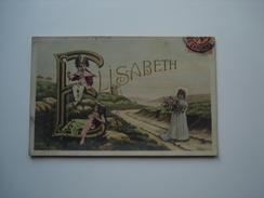 Prénom ELISABETH.... - Firstnames