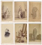 6 CDV Portraits Of Men #3 ± 1880's - Photographs