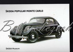 8 263 CZECH REPUBLIC  - Cca 2010 - Skoda Popular Sport Monte Carlo - ( 1935-1938 ) - Voitures De Tourisme