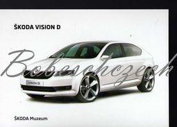 8 265 CZECH REPUBLIC  - Cca 2010 - Skoda Vision D (2011) A Prospective Design Concept - Voitures De Tourisme