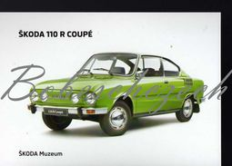 8 269 CZECH REPUBLIC  - Cca 2010 - Skoda 110 R (1970–1980) Coupe - Small Family Car  2-door Coupé - Voitures De Tourisme