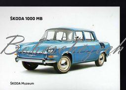 8 271 CZECH REPUBLIC  - Cca 2010 - Skoda 1000 MB (1964-1969 ) Small Family Car 4-door Saloon - Voitures De Tourisme