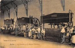 51 - MARNE / Avize - 51764 - Les Pressoirs De La Maison Pommery - Très Belle Carte Colorisée Et Toilée - Défaut - Francia