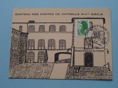 Expo 2° GUERRE MONDIALE (Chateau Des Comtes De Vintimille) Le LUC 1986 ( 500 Exempl. ) Tirage Limité 266/500 !! - Cartas Máxima