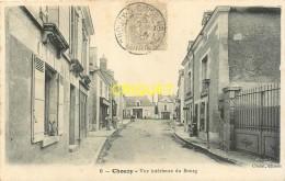 41 Chouzy Sur Cisse, Vue Intérieure Du Bourg, Affranchie 1906 - France