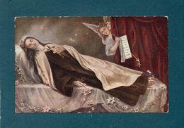 Sr Thérèse De L'Enfant Jésus Sur Son Lit De Mort - Christianisme