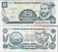 Nicaragua 1991 - 25 Centavos - Pick 170 UNC - Nicaragua