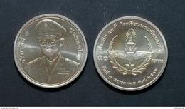 Thailand Coin 50 Baht 2003 50th Royal Thai Air Force Academy Y404 - Thailand