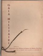 PLAQUETTE GALA MILITAIRE ASSOCIATION DES OFFICIERS DE RESERVE DE BEZIERS -ST PONS 1937 -           TDA101 - Announcements