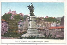 GENOVA - Monumento Duca Di Galliera E Collina S. Rocco - Genova