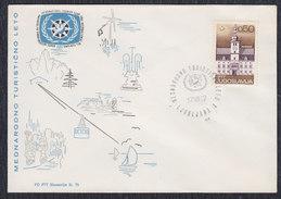 Yugoslavia Slovenia 1967 Ljubljana - Tourist Summer, Commemorative Envelope - Briefe U. Dokumente