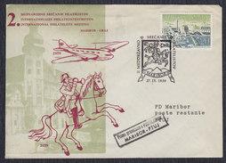 Yugoslavia Slovenia 1959 Maribor - Philatelic Meeting, Commemorative Envelope - 1945-1992 Socialist Federal Republic Of Yugoslavia