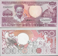 Suriname 1986 - 100 Gulden - Pick 133 UNC - Surinam