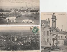 17 /1 2 / 205  -  5   CP  D'AUTUN ( 71 )  Toutes Scanées - Cartes Postales