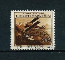 Liechtenstein  Nº Yvert  A-3  USADO - Air Post