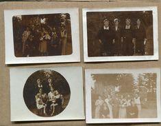 4 Photographies Privées Bretagne Locmaria 1932 1933 - Lieux