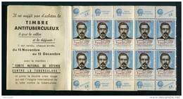 Carnet De 1951 - Tuberculose - Antituberculeux - GIBBS - Dent - Dentifrice - Docteur VILLEMIN - Bébé - Tegen Tuberculose