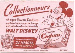 Buvard 16 X 11,5  Savon CADUM Mickey - Perfume & Beauty