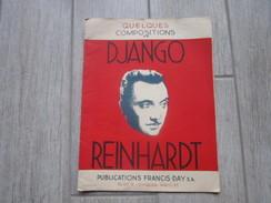 DJANGO REINHARDT Ancien Livret De 24 Pages De Qq Compositions - Partitions Musicales Anciennes