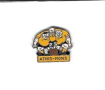 Pin's  Ville, Sport  Rugby  ATHIS - MONS  ( 91 ) - Rugby