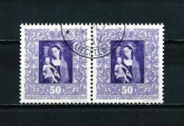 Liechtenstein  Nº Yvert  236 (pareja Horizontal)  USADO - Liechtenstein