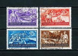 Liechtenstein  Nº Yvert  137/40  USADO - Liechtenstein