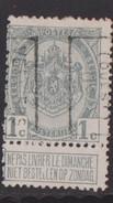 Verviers Ouest  1909  Nr. 1349B - Precancels