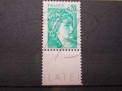 VEND BEAU TIMBRE DE FRANCE N° 1967c + BDF , SANS BANDE PHOSPHORE , XX !!! - 1977-81 Sabine Of Gandon