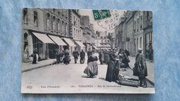 FOUGÈRES - RUE DE CHATEAUBRIAND - 35 - Fougeres