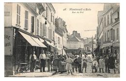 93 SEINE SAINT DENIS - MONTREUIL SOUS BOIS Rue Du Pré - Montreuil