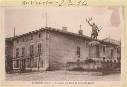 Militaria : BUSSIERES - Loire (monument Aux Morts) - Monumenti Ai Caduti