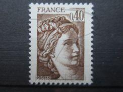VEND BEAU TIMBRE DE FRANCE N° 2118 , BRUN CLAIR , XX !!! - Errors & Oddities