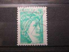 VEND BEAU TIMBRE DE FRANCE N° 1967 , EMERAUDE CLAIR , XX !!! - Variedades Y Curiosidades