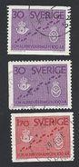 Schweden, 1962, Michel-Nr. 485-486 A+D, Gestempelt - Sweden