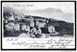NERVI ( Grnova ) UN SALUTO DA NERVI - PANORAMA DAL MONTE MORO - Italia