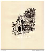 1933 - Illustration De Edmond Spalikowski - Beaussault (Seine-maritime) - La Ferme Du Château - FRANCO DE PORT - Non Classificati