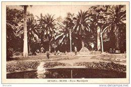 NERVI ( Genova ) PARCO MUNICIPALE - Viaggiata 1938 - Italia