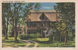 AK Concord The Old Manse Emerson Middlesex County A Acton Maynard Bedford Lincoln Massachusetts MA United States USA - Lawrence