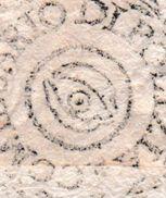 534 :  Sceau Franchise De La Commune De METAURO (Italie) ; Oeil Symbolique Au Cente : 1813 ! - Freemasonry