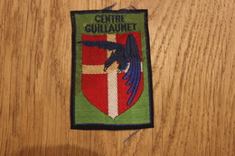 Collection GUILLAUMET Ecusson CENTRE GUILLAUMET - Escudos En Tela
