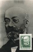 D31950 CARTE MAXIMUM CARD RR 1957 HUNGARY - ZAMENHOF ESPERANTO CP PHOTOCARD - Esperanto