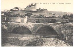 Tunisie - CPA - Carthage - Les Citernes De La Malga Et La Basilique Primatiale - Tunisie