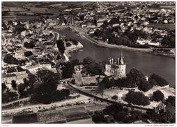 PORNIC Vue Aérienne Sur Le Port, La Ville Et Le Château. Carte Photo - Pornic