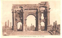 Algerie - Alger - CPA - TIMGAD - Ruine Romaine - Arc De Trajan - Alger