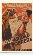 TRABAJADORES....solidaridad Obrera...Espagne 1936. - Cartes Postales