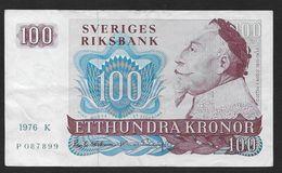 SUEDE - 100 KR  1976 - Sweden