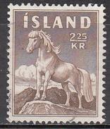 ICELAND   SCOTT NO. 312    USED     YEAR  1958 - 1944-... Repubblica