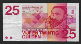 PAYS BAS - 25 Gulden  1971 - [2] 1815-… : Kingdom Of The Netherlands