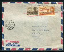 Egypte - Enveloppe De Alexandrie Pour La France - Ref D195 - Égypte
