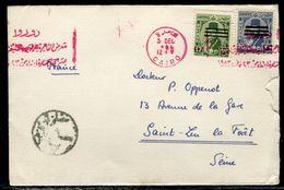 Egypte - Enveloppe Du Caire Pour La France - Ref D196 - Égypte
